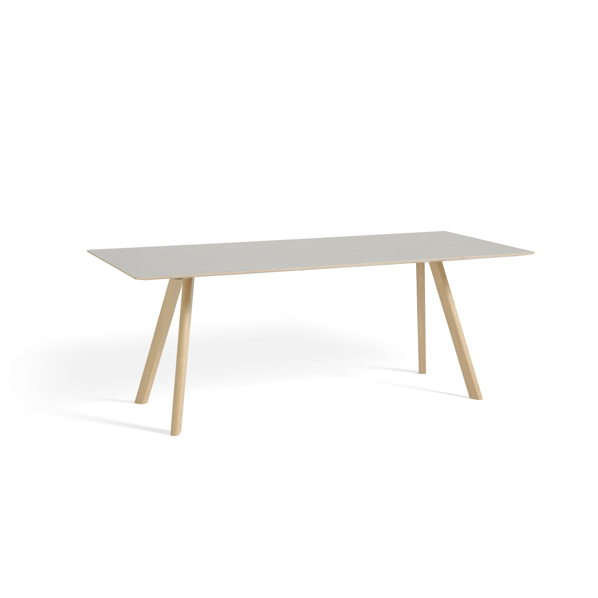 The copenhague cph30 dining table by hay for Table design 90 cm