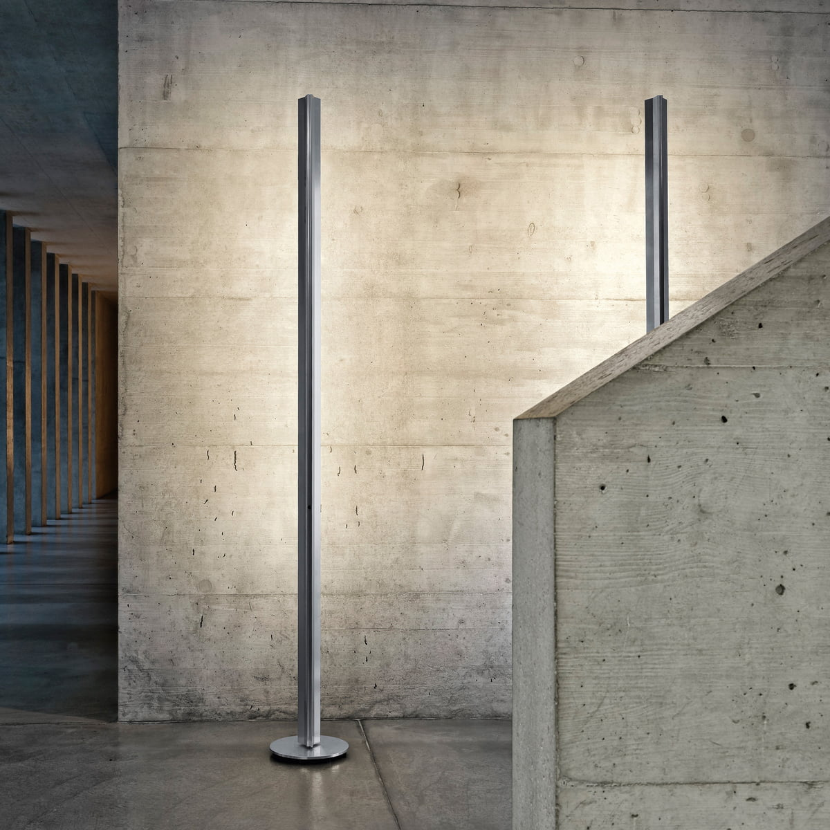 ypsilon led floor lamp by belux in our designer shop