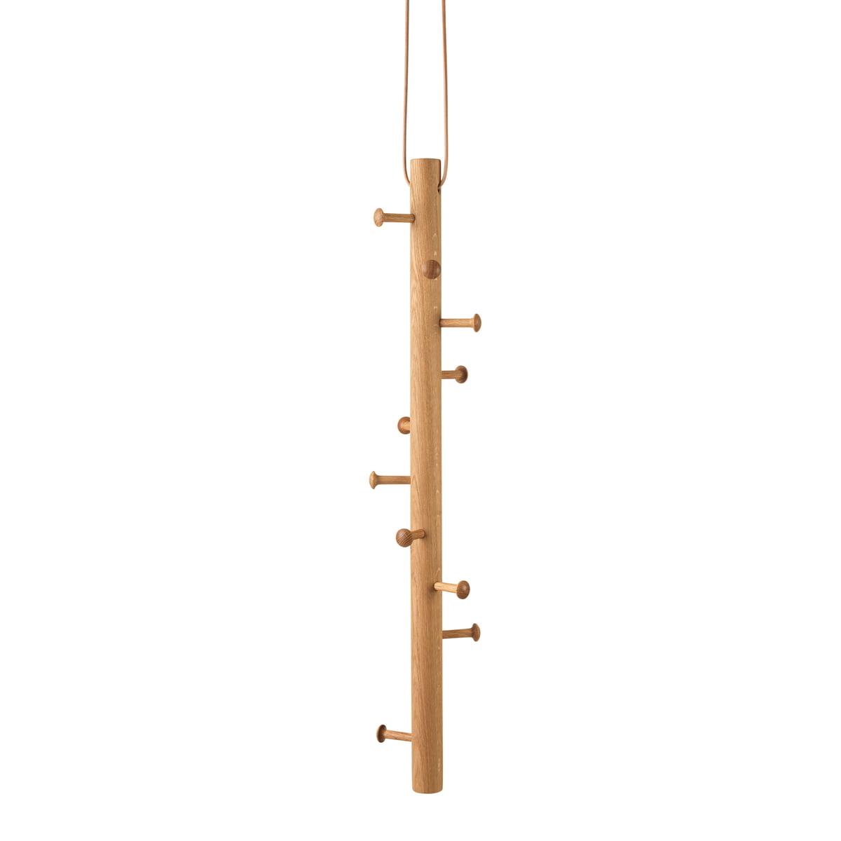 hanging coat rack by copenhanger in the shop - hanging coat rack by copenhanger made of natural oak