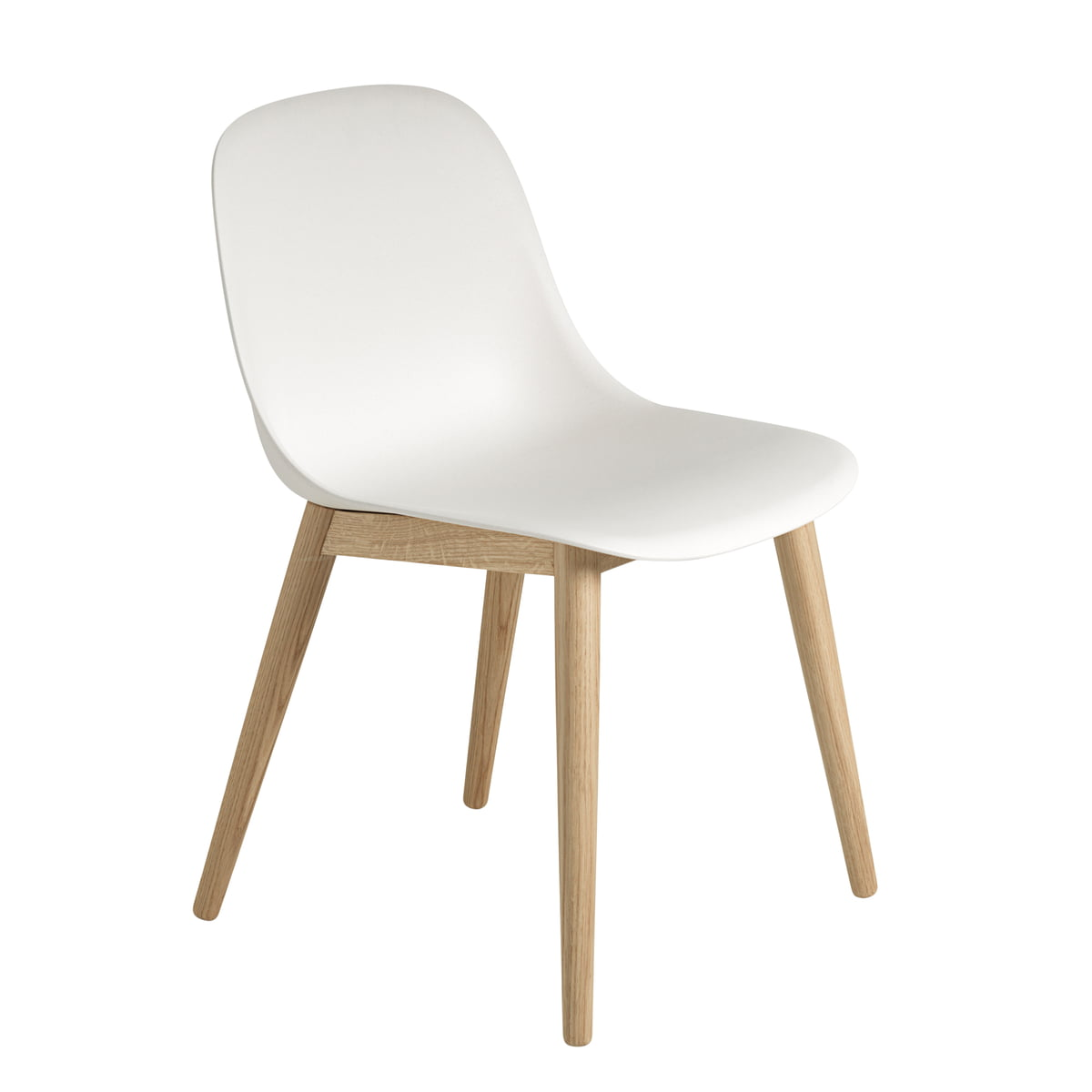 the fiber side chair wood by muuto. Black Bedroom Furniture Sets. Home Design Ideas