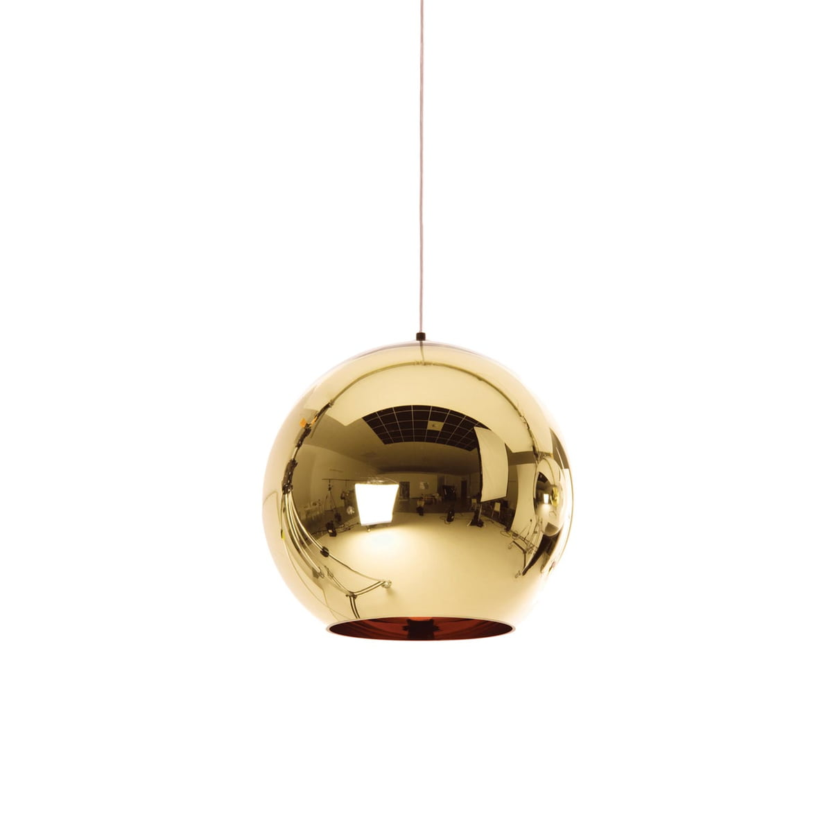 tom dixon bronze copper pendant lamp 25 cm