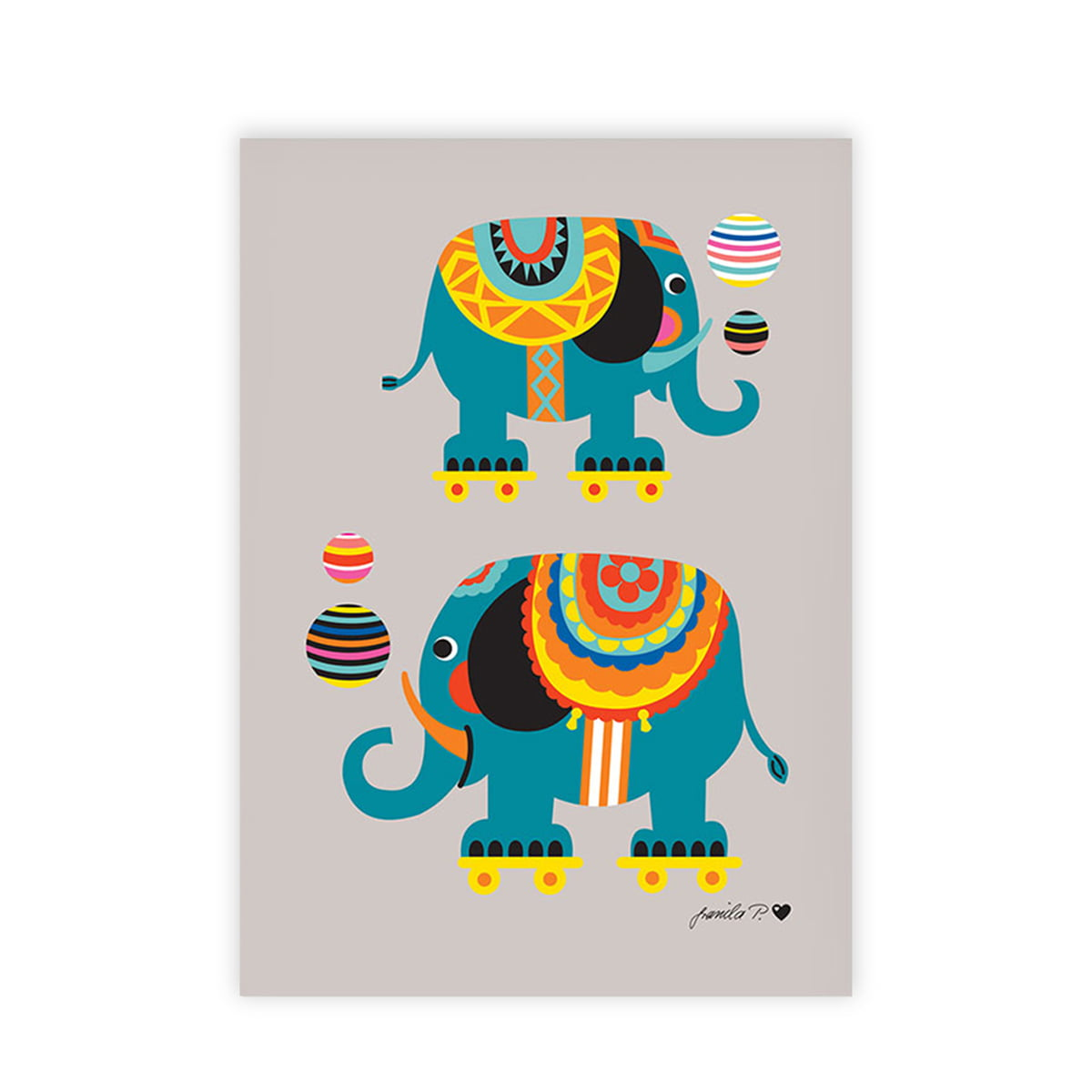 children u0027s poster circus by bygraziela in the shop