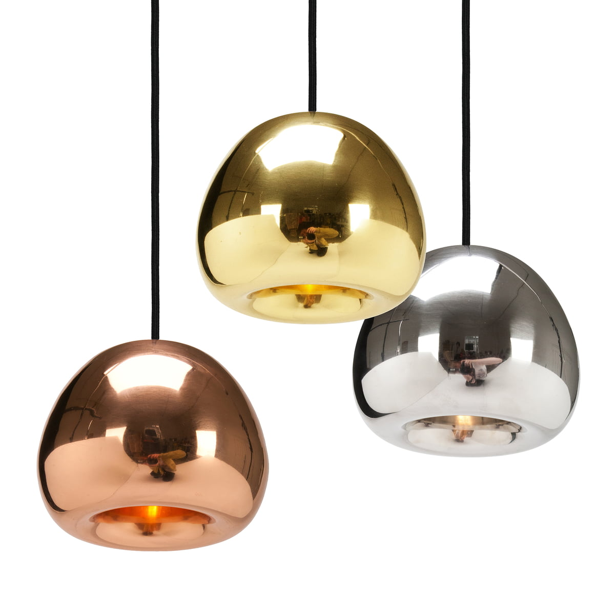 void pendant lamp by tom dixon in the shop. Black Bedroom Furniture Sets. Home Design Ideas