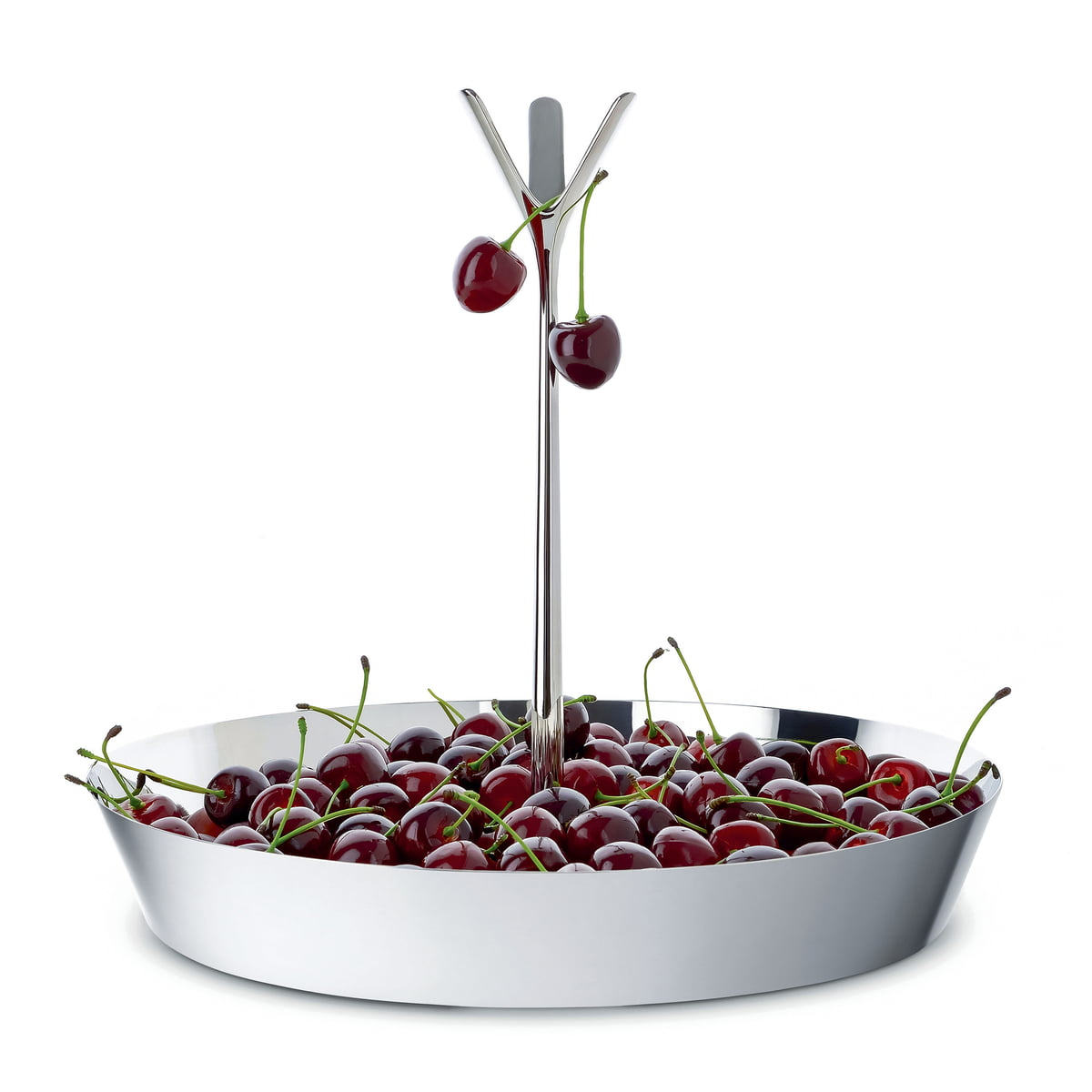 tutti frutti fruit bowl by alessi in the shop - unique fruit bowl with pronged top