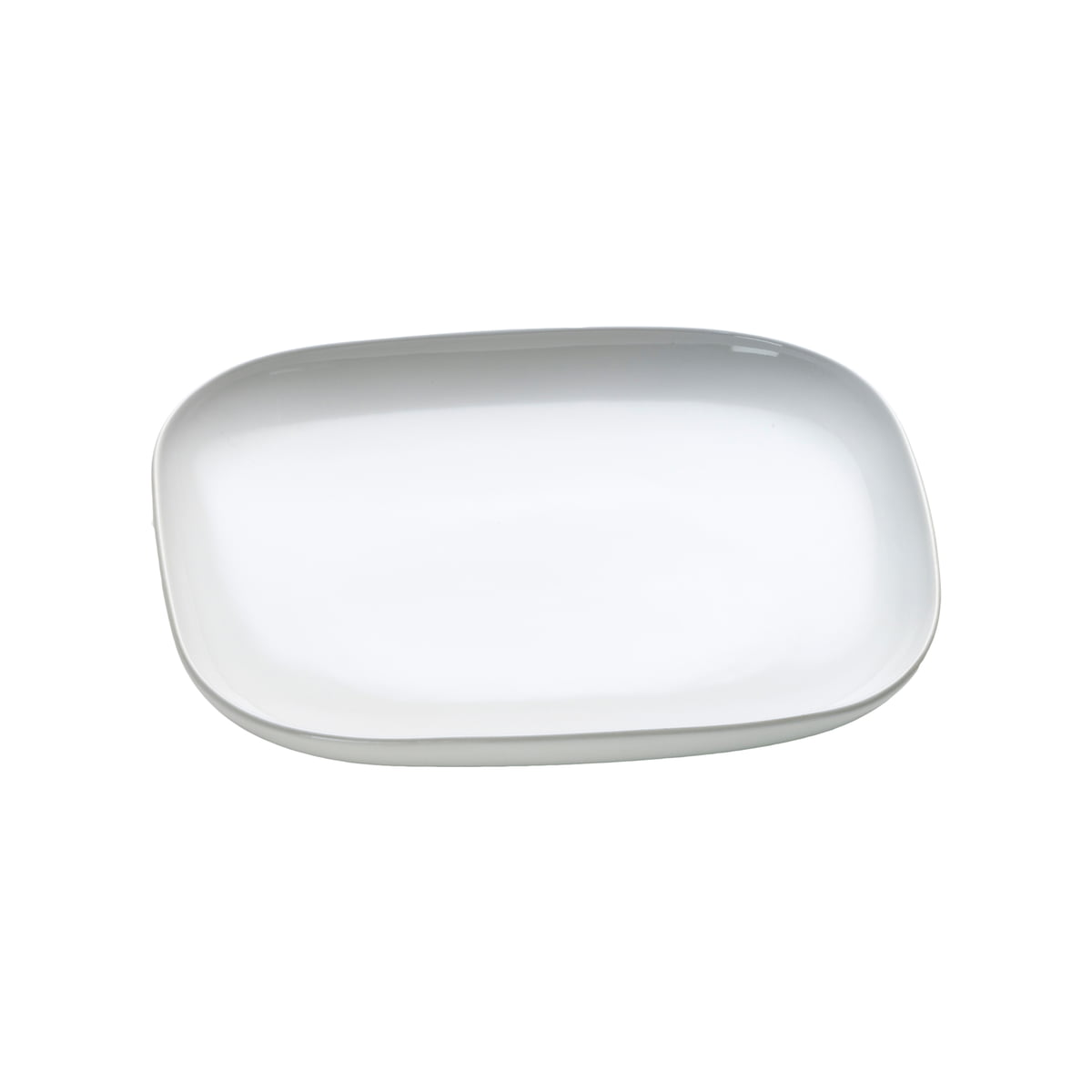 ovale dinner plate by alessi in the shop - ovale dessert plate by alessi