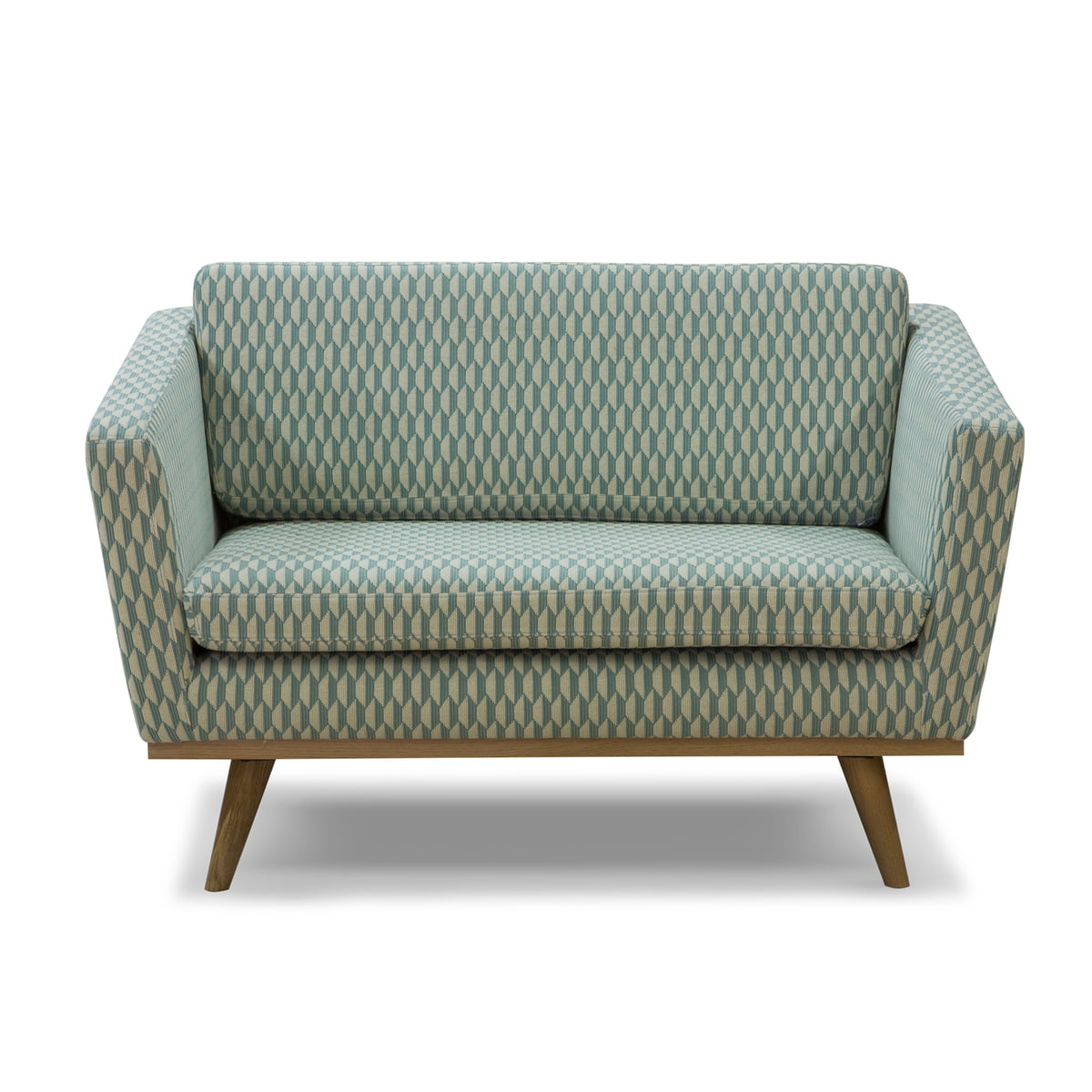 fifties sofa 120 from red edition in bakou celadon t31
