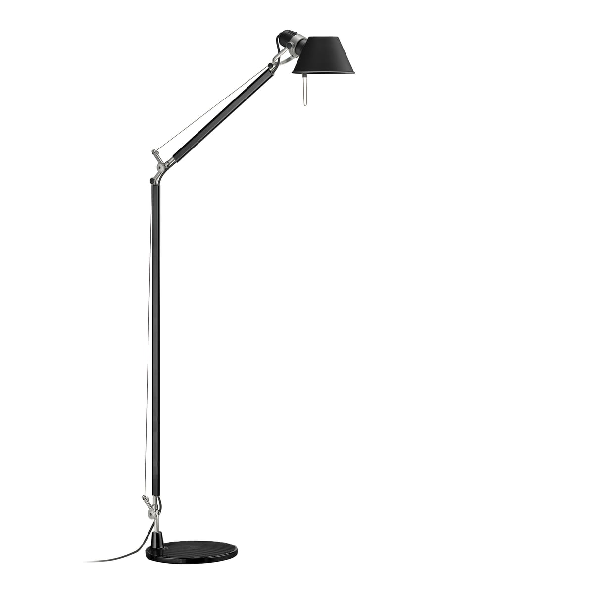 tolomeo lettura floor lamp by artemide. Black Bedroom Furniture Sets. Home Design Ideas