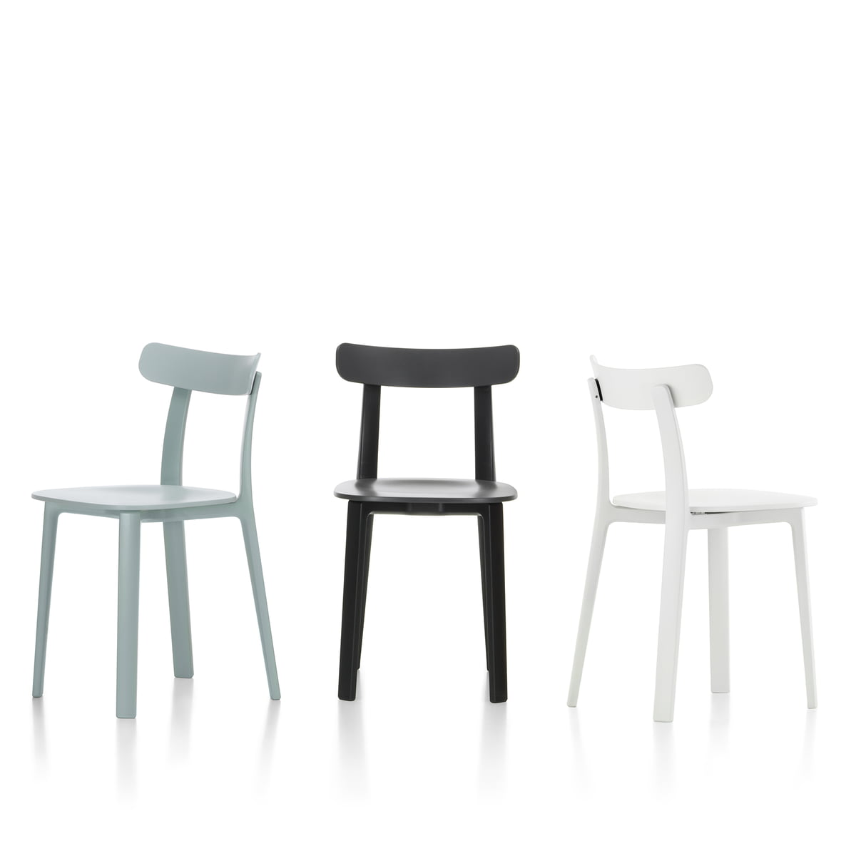 purchase the all plastic chair by vitra. Black Bedroom Furniture Sets. Home Design Ideas
