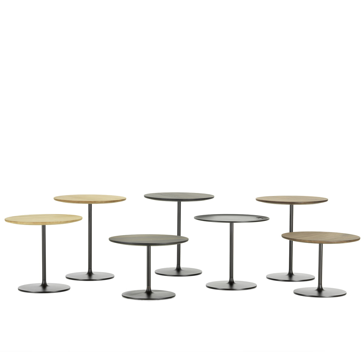 The occasional tables by vitra in the shop for Low end table