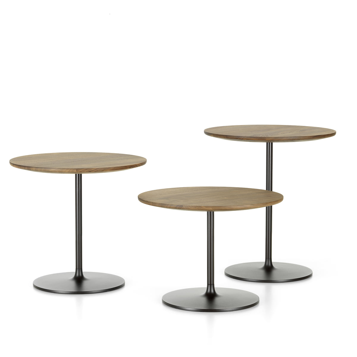 The occasional tables by vitra in the shop for To the table