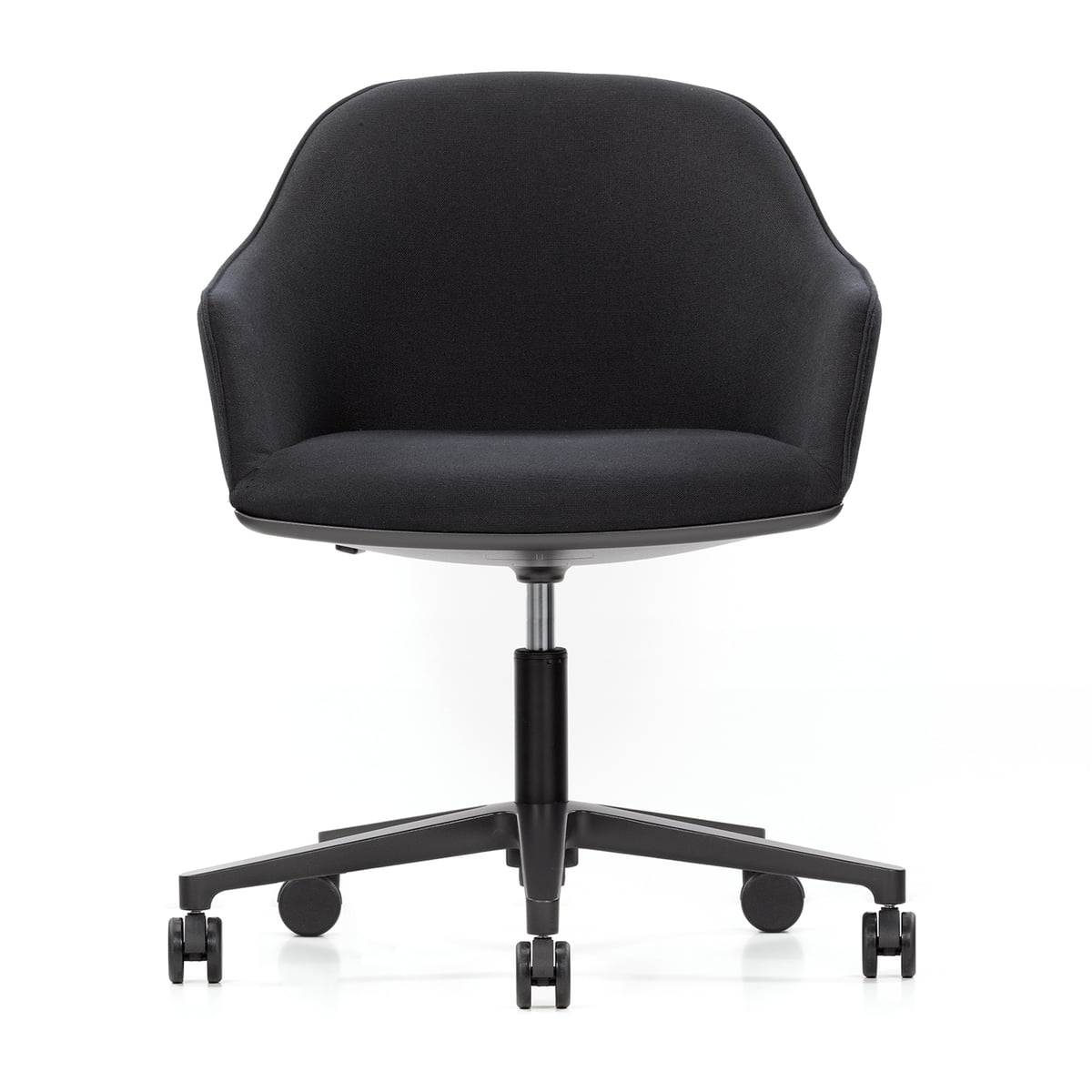buy the vitra softshell chair with wheels. Black Bedroom Furniture Sets. Home Design Ideas