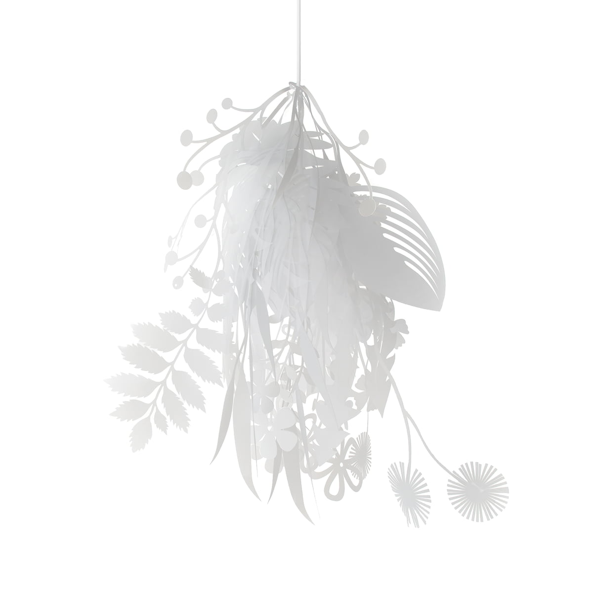 bouquet paper lampshade by artecnica - bouquet lampshade from artecnica