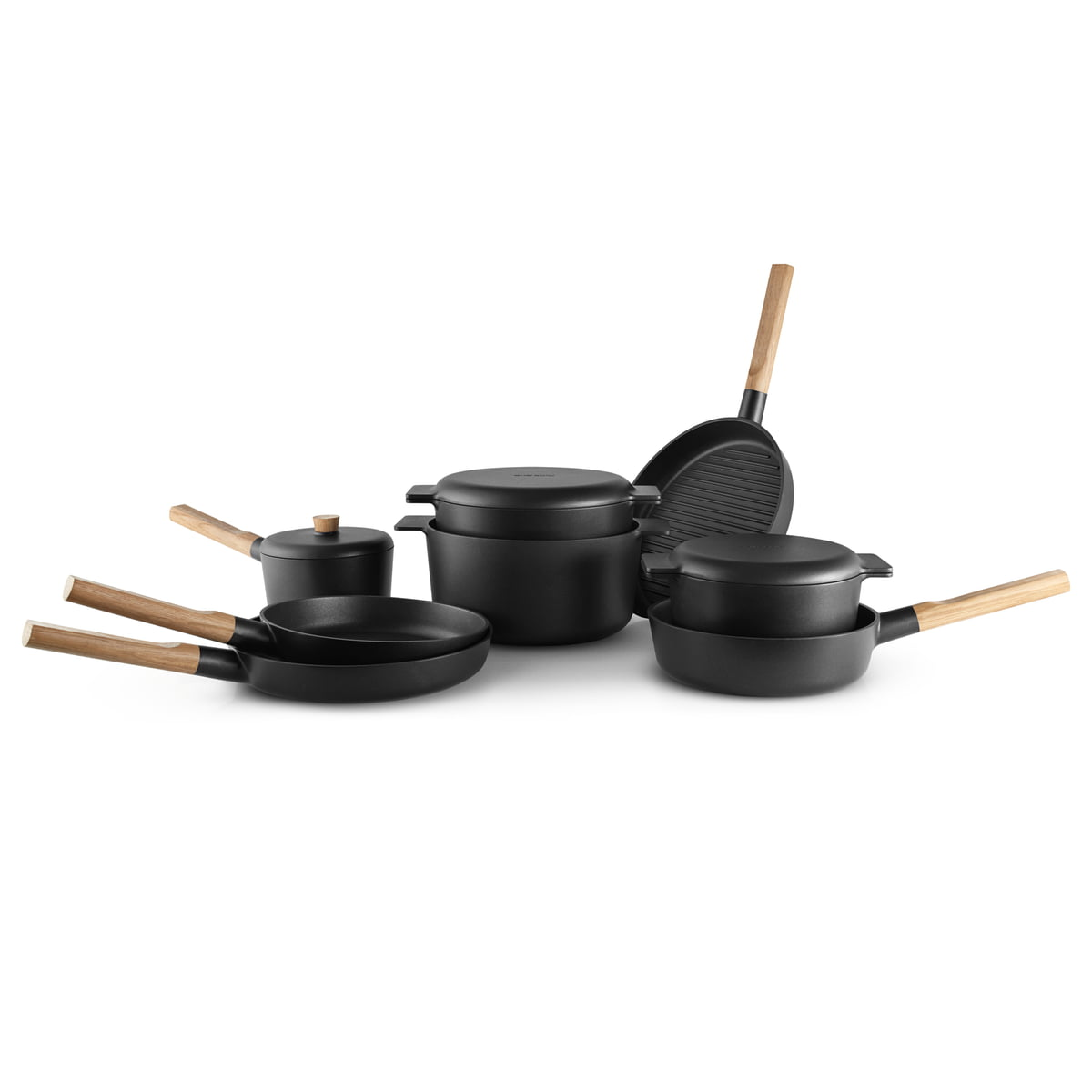 nordic kitchen saucepan by eva solo. Black Bedroom Furniture Sets. Home Design Ideas