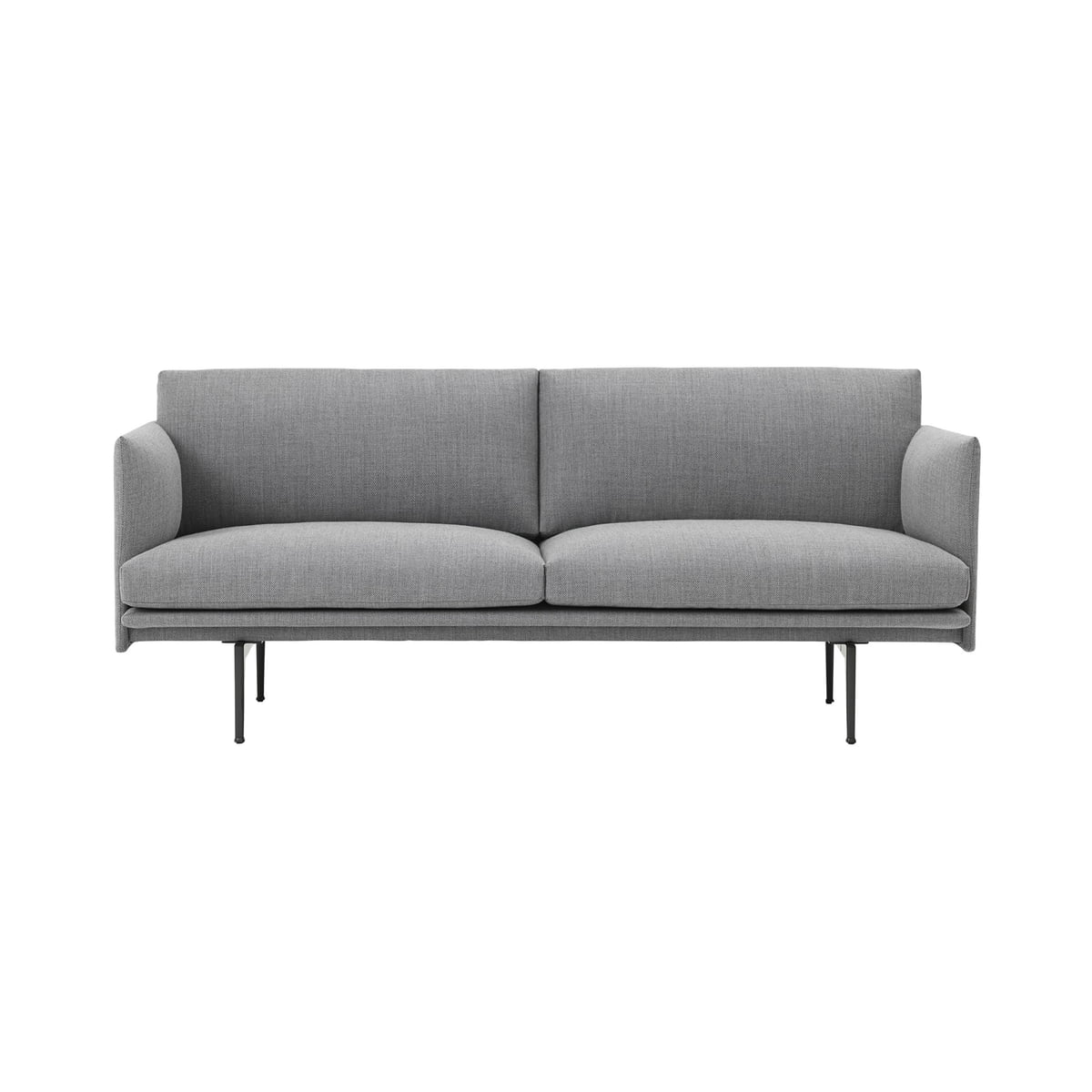 Outline sofa 2 seater by muuto in the shop for Sofa 2 sitzer