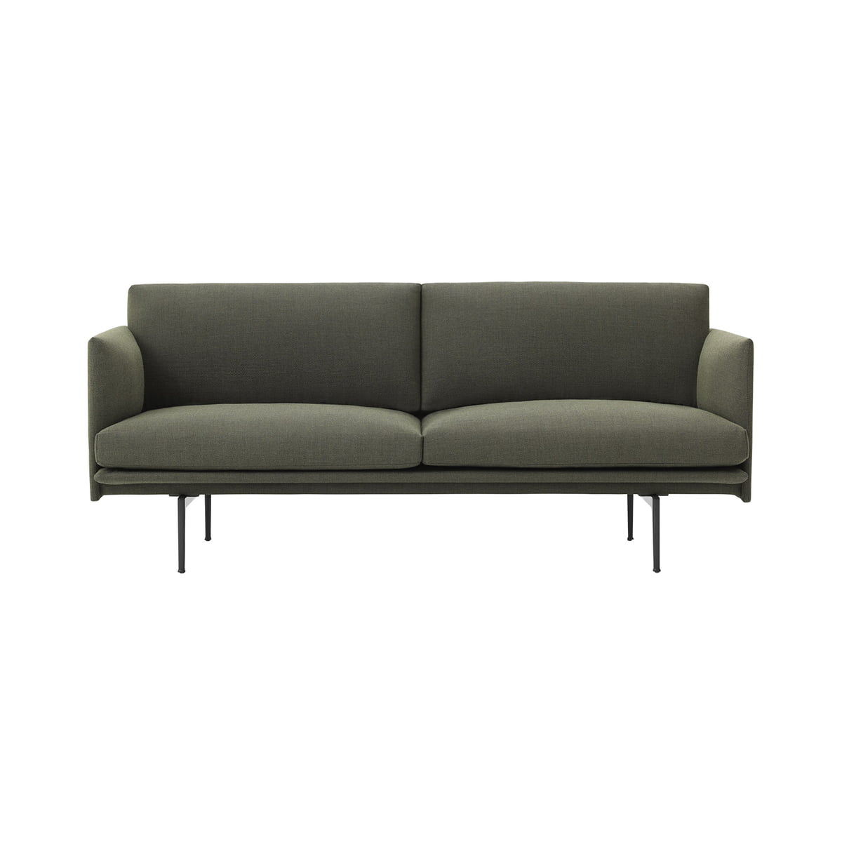 Outline Sofa 2 Seater By Muuto In The Shop