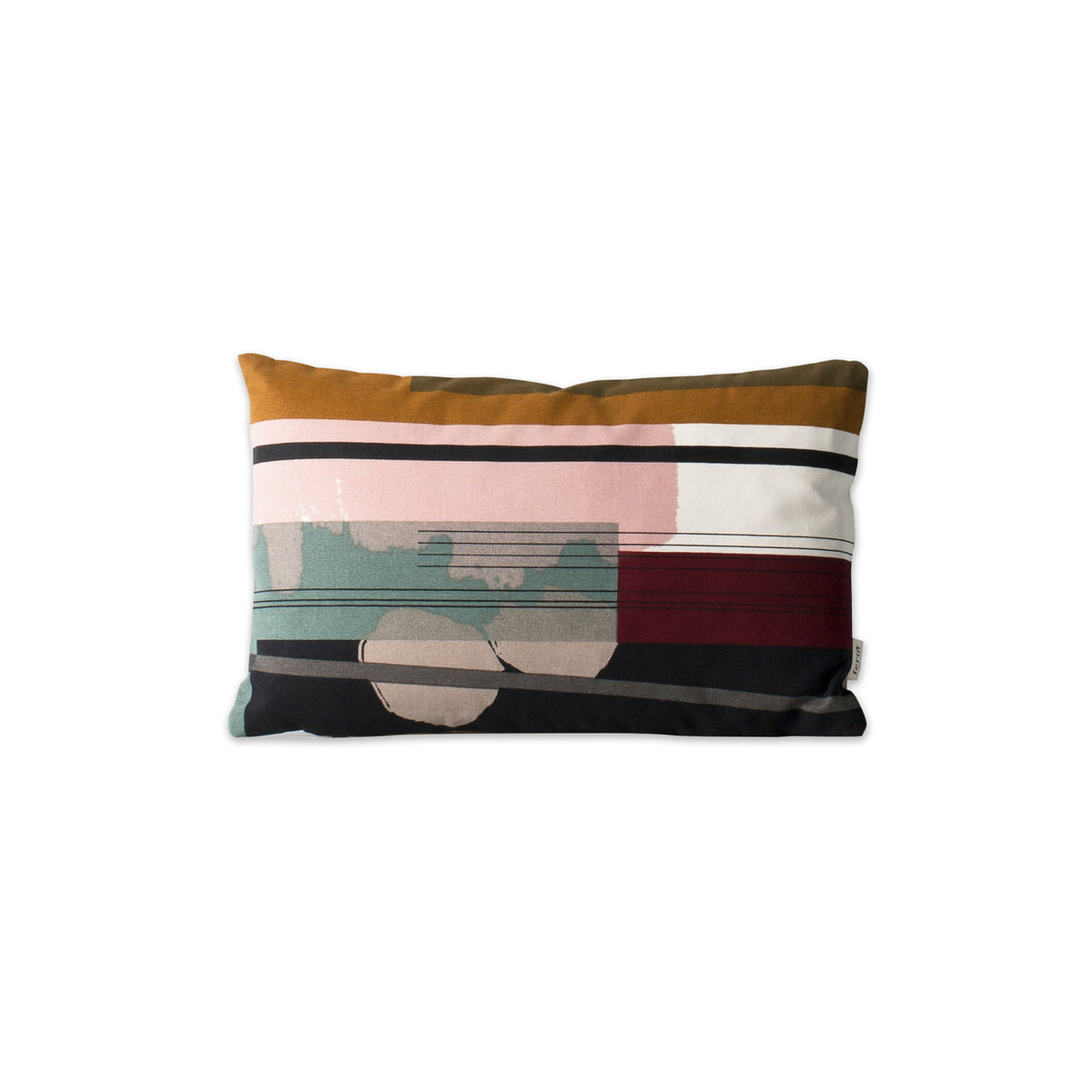 Colour Block Cushion Small 3 By Ferm Living