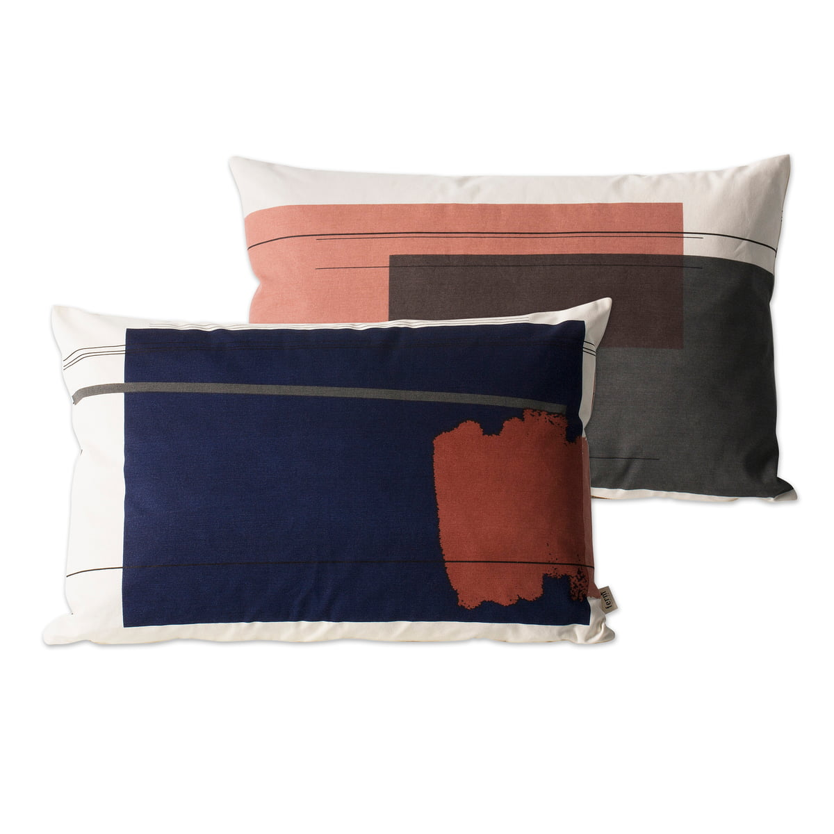Colour Block Cushion Large 1 From Ferm Living