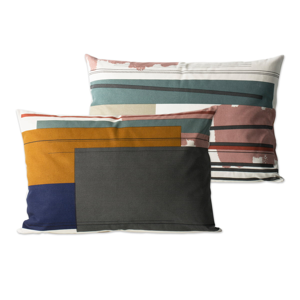 Colour Block Cushion Large 2 From Ferm Living