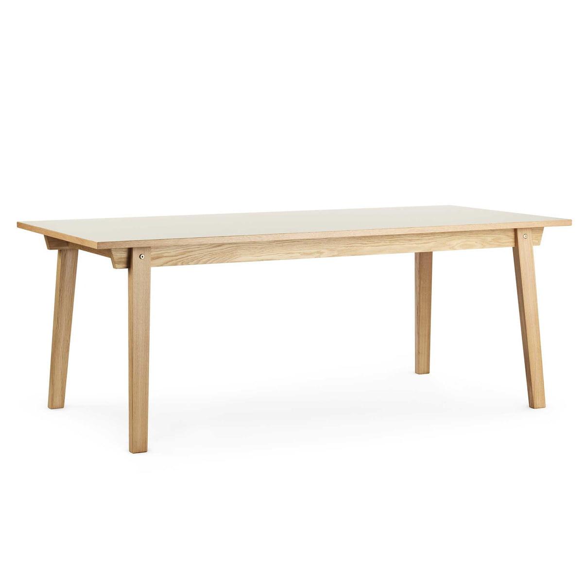 slice table linoleum 90 x 200 cm by normann copenhagen. Black Bedroom Furniture Sets. Home Design Ideas