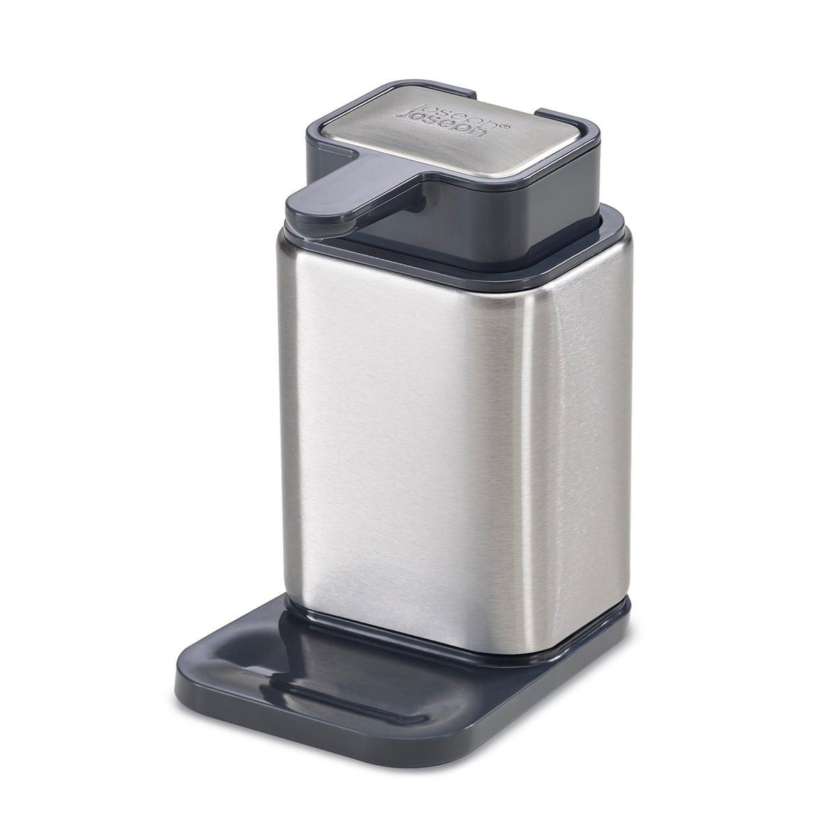 surface soap dispenser with stainless steel - surface soap dispenser with stainless steel soap by joseph joseph
