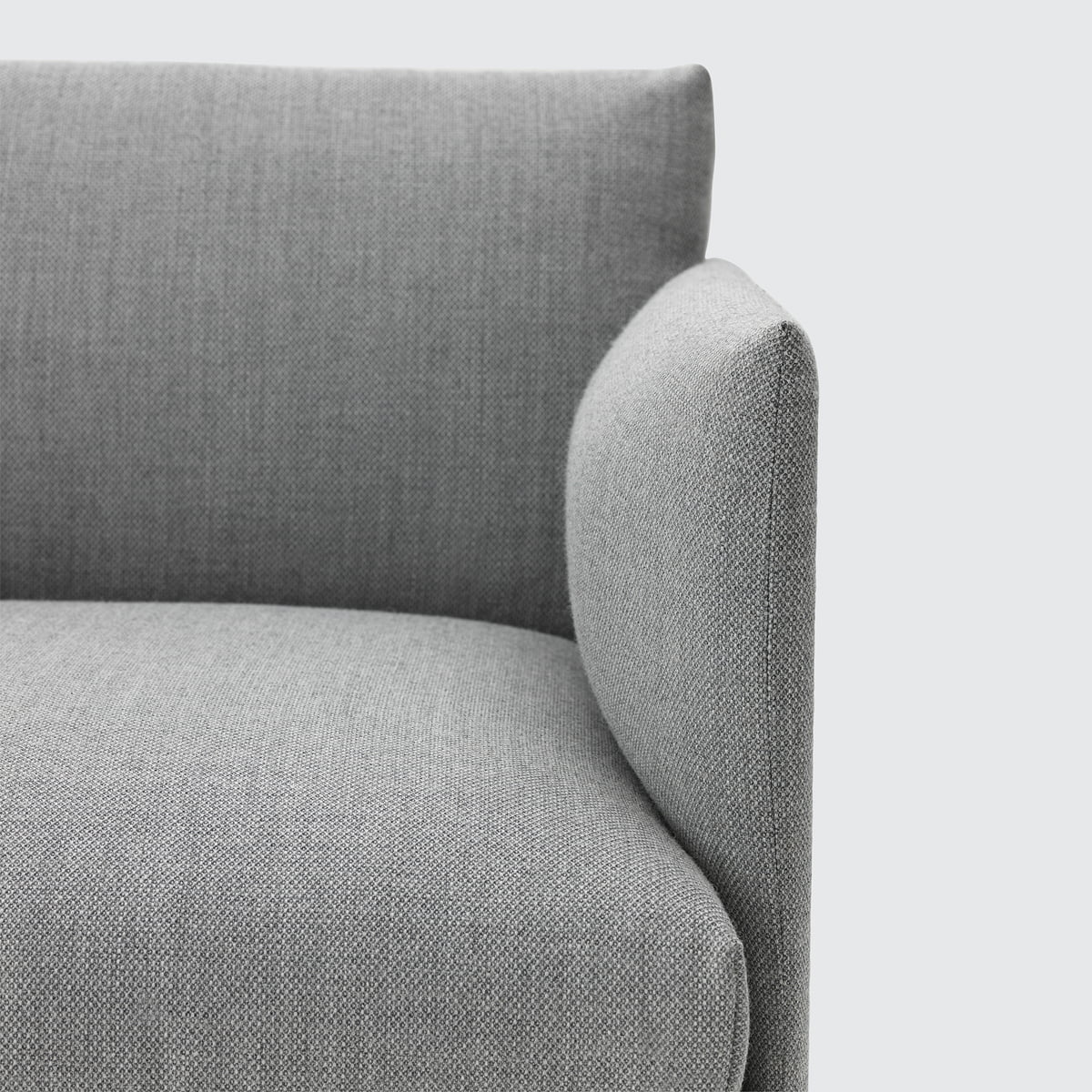 Outline sofa 2 seater by muuto in the shop for Sessel hellgrau
