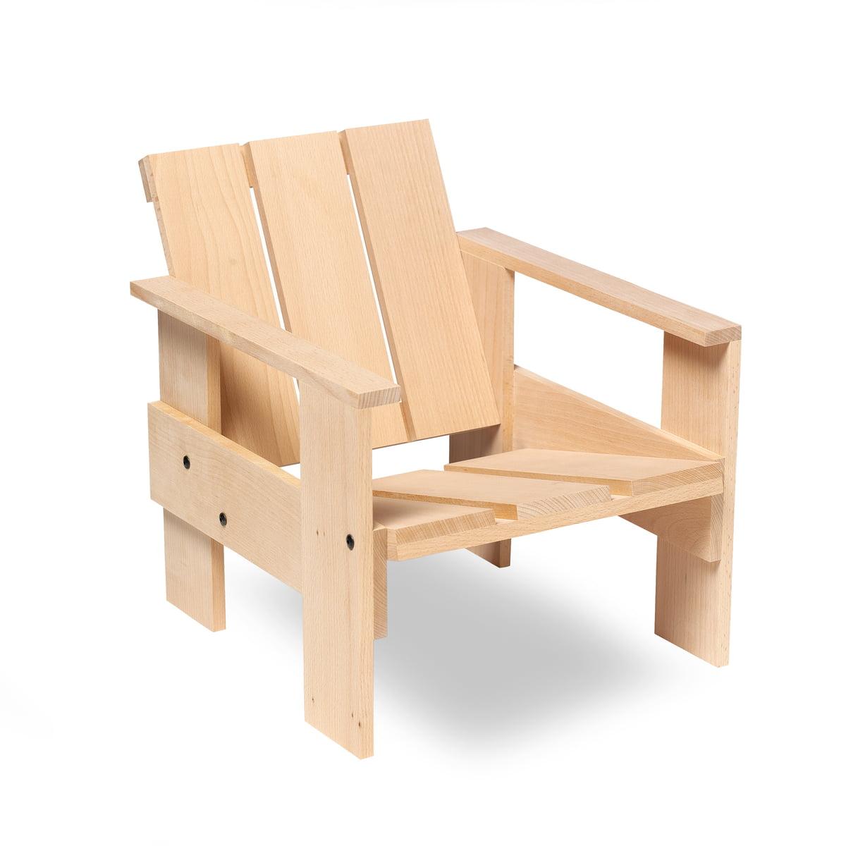 Gerrit rietveld furniture - Spectrum Gerrit Rietveld Junior Crate Chair Natural