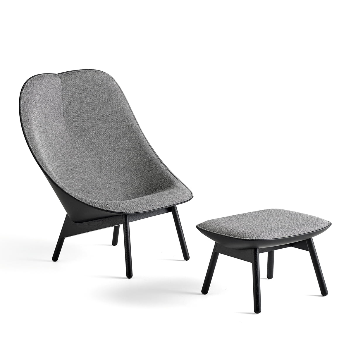 uchiwa armchair by hay connox shop. Black Bedroom Furniture Sets. Home Design Ideas