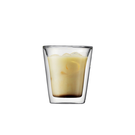 Bodum Canteen, double-walled drinking glass 0.2l