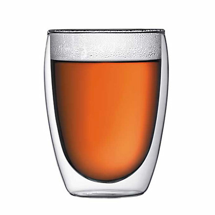 Bodum Pavina, double-walled drinking glass 3.6dl