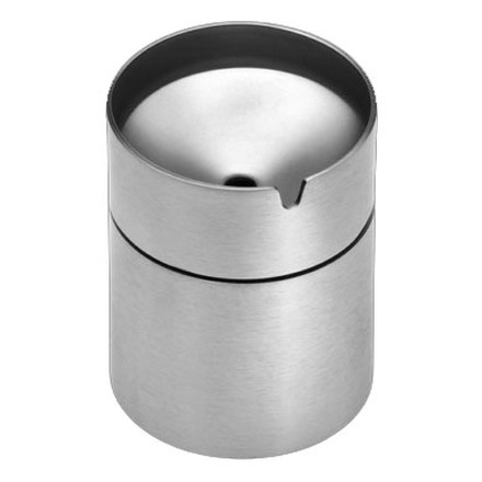 Carl Mertens - ashtray Caldera made of stainless steel