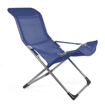 Fiam - Fiesta Easy Chair, dark blue - single image