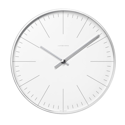 Max Bill Wall Clocks / Strich