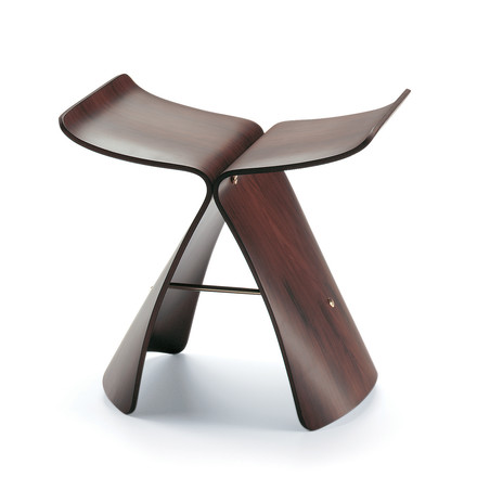 Vitra Butterfly Stool, rosewood