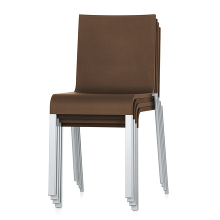 Vitra - Chair .03, group: stacked / brown