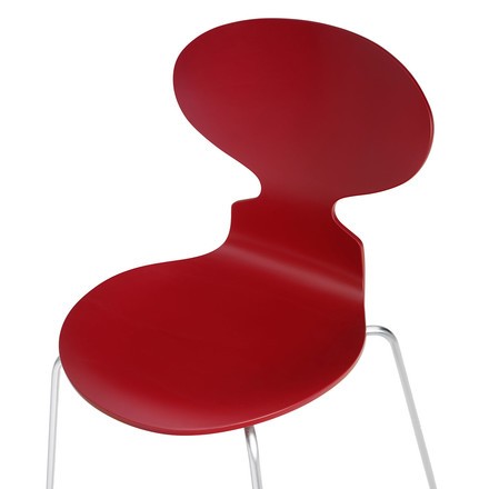 Fritz Hansen - The Ant Chair, red