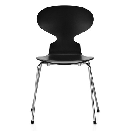 Fritz Hansen - The Ant Chair, black