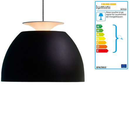 Bossa pendant lamp, black