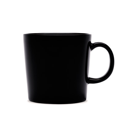 Teema mug with handle 0,3 l, black