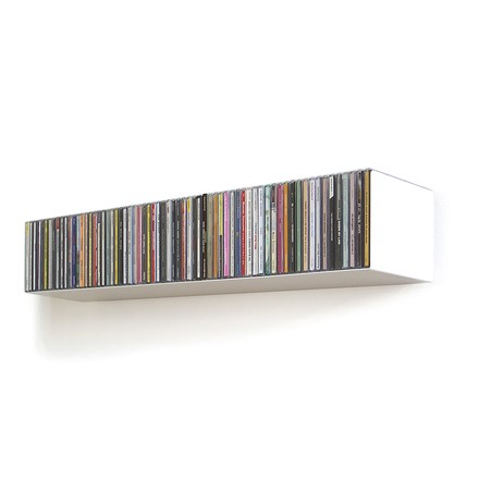 linea1 b _ CD-shelf, white