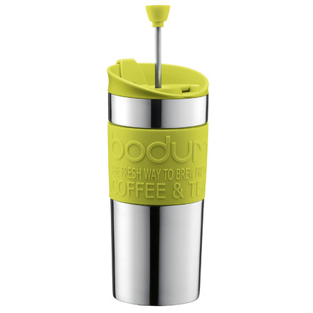 Bodum - Travel Press - stainless steel, 0.35 L, lime