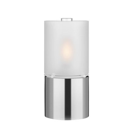 Stelton - Oil Lamp 1006 with Glass Shade, satined