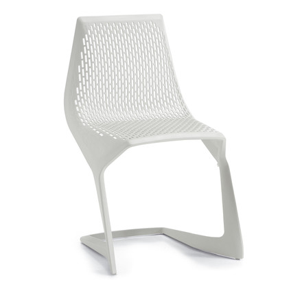 Plank - Myto Chair, white (RAL 9010)