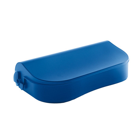 Danese Flores, desk storage containers blue
