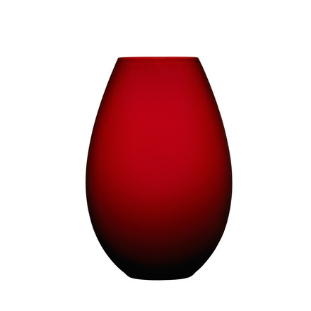 Holmegaard - Cocoon Vase, 20.5 cm, red, single image