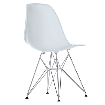 Eames Plastic Side Chair - DSR / white