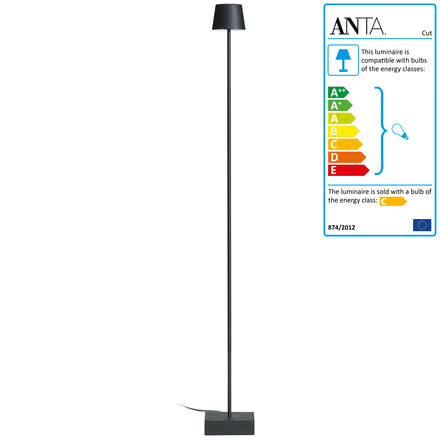 Anta Cut Floor Lamp