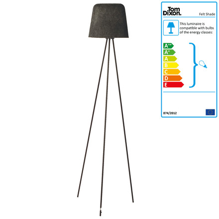 Tom Dixon - Felt Shade Floor Lamp