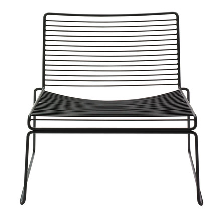 Hay Hee Lounge Chair, schwarz