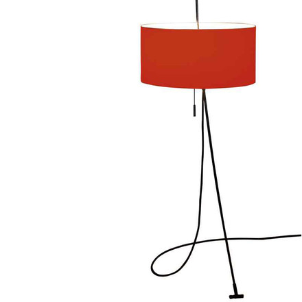 Carpyen Totora lamp red