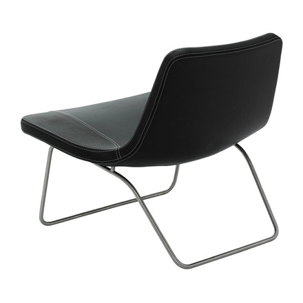 Hay Ray Lounge Chair black leather